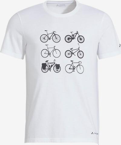 VAUDE T-Shirt in schwarz / weiß, Produktansicht