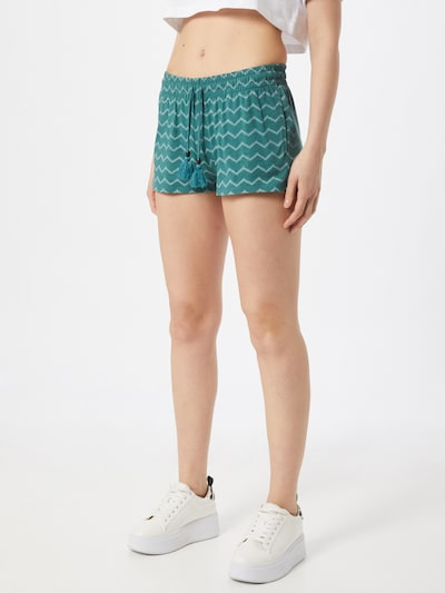 Ragwear Shorts 'ANIKO' in petrol / weiß, Modelansicht