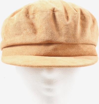 ZARA Baskenmütze in XL in nude, Produktansicht
