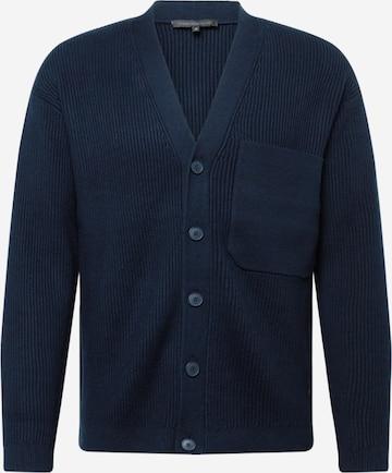 DRYKORN Knit cardigan 'JASPER' in Blue