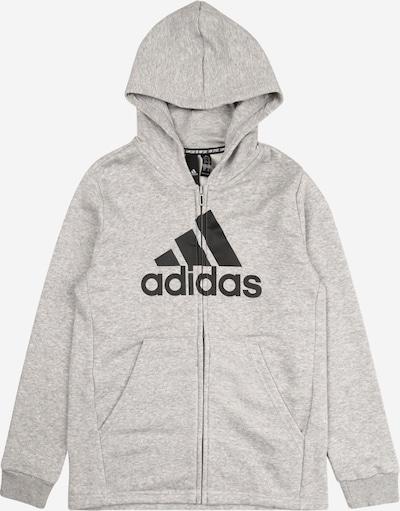 ADIDAS PERFORMANCE Sportowa bluza rozpinana 'Bos' w kolorze szary / czarnym, Podgląd produktu