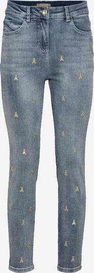 PATRIZIA PEPE Jean en bleu / or, Vue avec produit