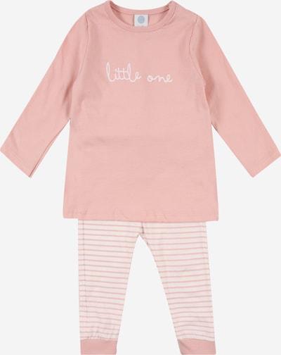 Pijamale SANETTA pe roz / alb, Vizualizare produs