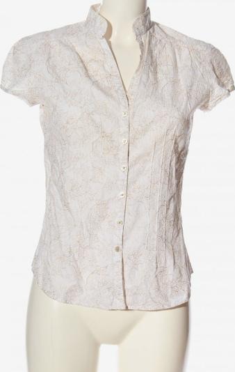 JETTE Kurzarmhemd in M in braun / weiß, Produktansicht