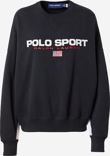 Polo Ralph Lauren Sweatshirt in Blue / Red / Black / White, Item view