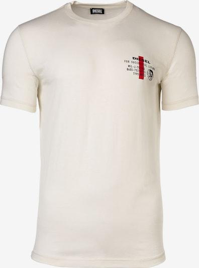 DIESEL Shirt in de kleur Rood / Zwart, Productweergave