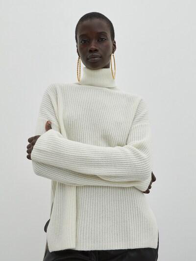 EDITED Sveter 'Allegra' - biela, Model/-ka