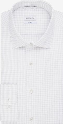 SEIDENSTICKER Business Hemd ' Shaped ' in Grau