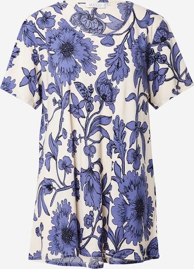 Masai Shirt 'Klara' in royalblau / schwarz / naturweiß, Produktansicht