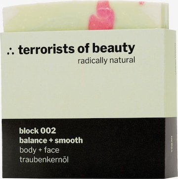 Terrorists of Beauty Soap 'Block Balance + Smooth' in