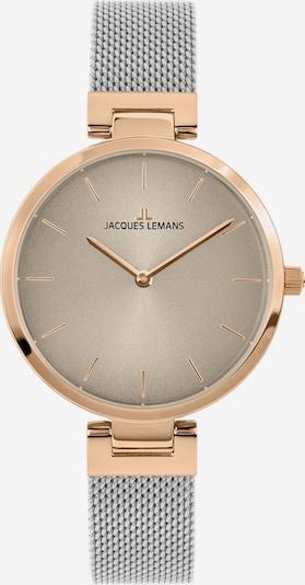 Jacques Lemans Uhr in gold / silber, Produktansicht