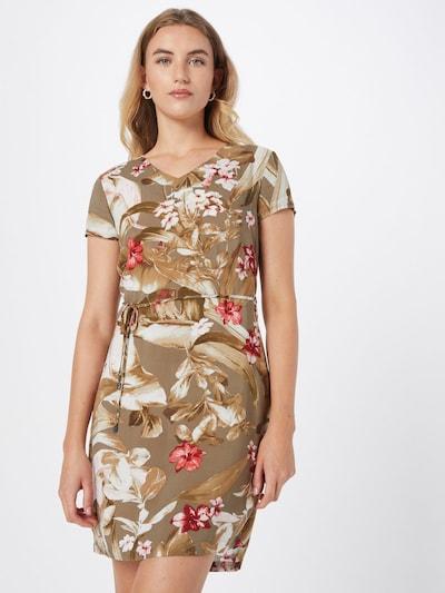 ZABAIONE Dress 'Emily' in Khaki / Olive / Red / White, View model