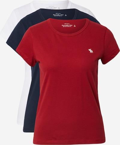 Abercrombie & Fitch Paita värissä tummansininen / punainen / valkoinen, Tuotenäkymä