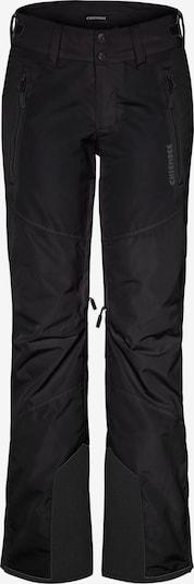 CHIEMSEE Outdoor панталон 'Kizzy' в сиво / черно, Преглед на продукта