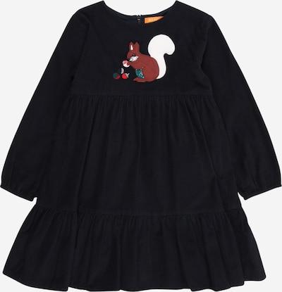 STACCATO Kleid in nachtblau / braun / smaragd / rot / weiß, Produktansicht