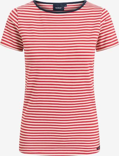 Sea Ranch T-Shirt in hellrot / weiß, Produktansicht