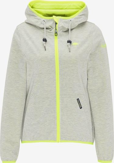 Giacca funzionale Schmuddelwedda di colore giallo neon / grigio chiaro, Visualizzazione prodotti