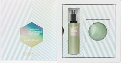 M2 Beauté Set 'Ultra Pure Solutions' in grün, Produktansicht