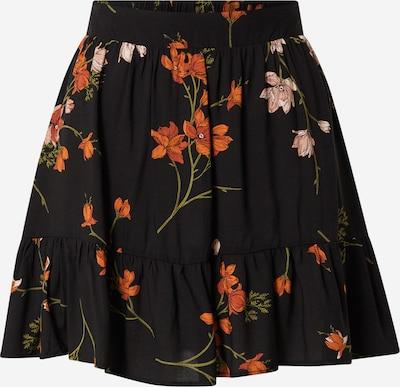 ABOUT YOU Jupe 'Camilla' en mélange de couleurs / noir, Vue avec produit