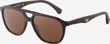 Emporio Armani Слънчеви очила '0EA4156' в кафяво