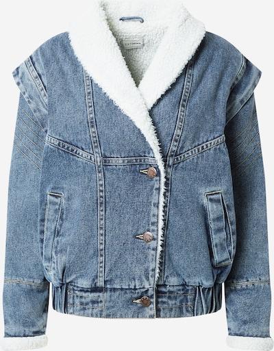 Pimkie Prijelazna jakna 'ATELIER' u plavi traper, Pregled proizvoda