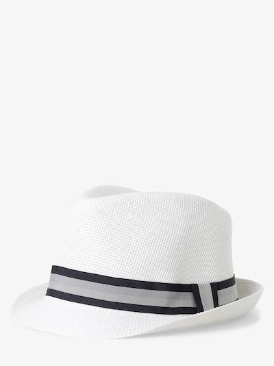 Finshley & Harding London Hut in grau / schwarz / naturweiß, Produktansicht