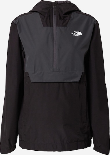 THE NORTH FACE Funktionsjakke i grå / sort / hvid, Produktvisning