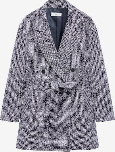 MANGO Mantel in blaumeliert, Produktansicht