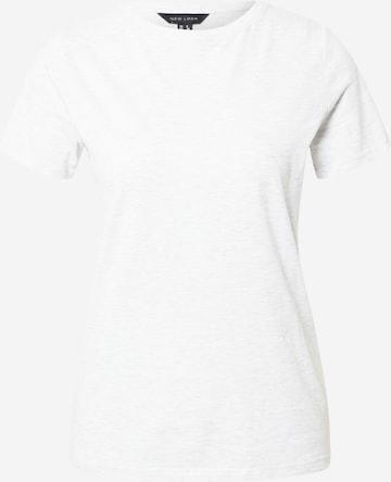 T-shirt 'GIRLFRIEND' NEW LOOK en gris