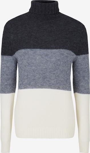 JOOP! Pullover ' Cosio ' in de kleur Crème / Lichtblauw / Donkerblauw, Productweergave
