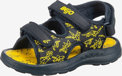BEjO Sandals & Slippers 'Timini' in Night blue / Yellow, Item view