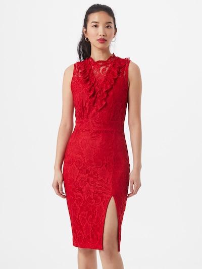 Skirt & Stiletto Kleid 'Leah' in rot: Frontalansicht