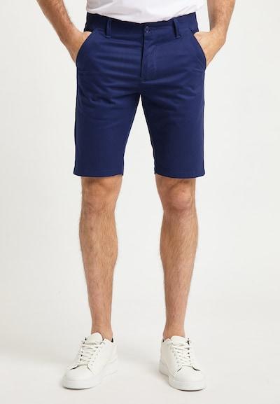 DreiMaster Maritim Pantalon en bleu marine, Vue avec modèle