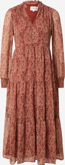 Maison 123 Kleid 'NADA' in beige / gold / rot / dunkelrot, Produktansicht