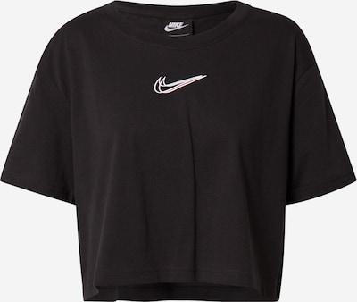Nike Sportswear T-shirt en noir / blanc, Vue avec produit