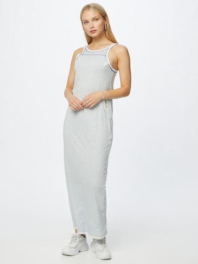 G-Star RAW Kleid in hellgrau / weiß, Modelansicht