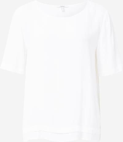 ESPRIT Bluse in weiß: Frontalansicht