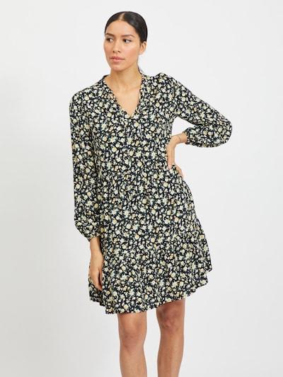 VILA Kleid 'Timia' in mischfarben / schwarz, Modelansicht