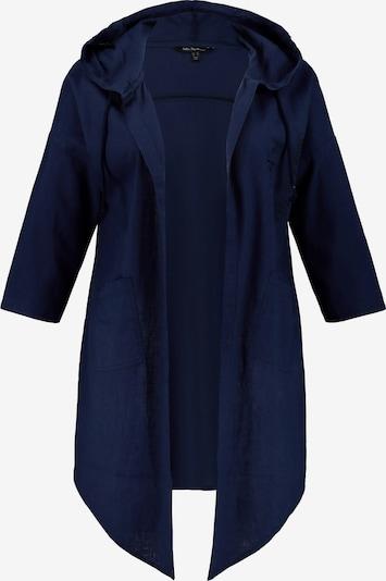 Ulla Popken Tussenjas in de kleur Blauw, Productweergave
