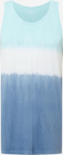 GAP Tričko - vodová / modrá denim / biela, Produkt