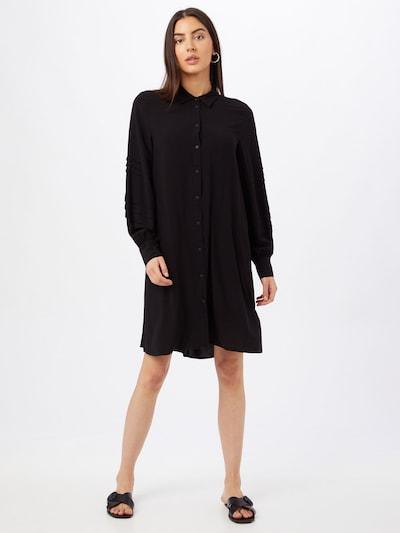 Rochie tip bluză 'Maryann' mbym pe negru, Vizualizare model