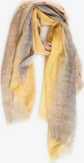 Emma & Kelly Schal im modernen Look in gelb / mischfarben, Produktansicht