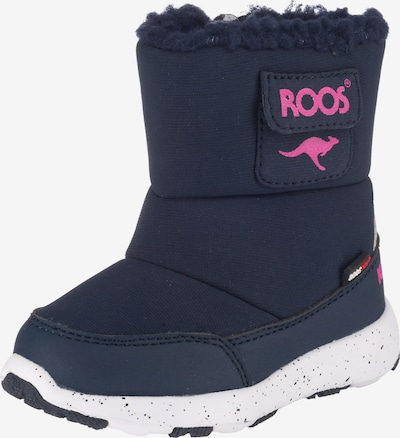 myToys-COLLECTION Winterstiefel in dunkelblau / pink, Produktansicht