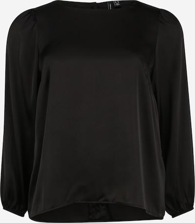 Vero Moda Curve Skjorte 'Maddie' i sort: Frontvisning