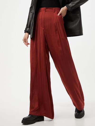 Essentiel Antwerp Hose 'Zantaloupe' in rot, Modelansicht