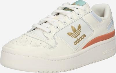arany / korál / természetes fehér ADIDAS ORIGINALS Rövid szárú edzőcipők 'FORUM', Termék nézet