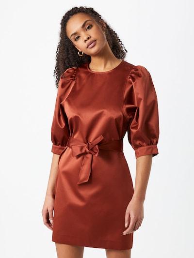 Samsoe Samsoe Kleid 'Celestina' in rostrot, Modelansicht