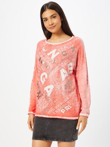 Soccx Sweater 'Oh La La Paris' in Red