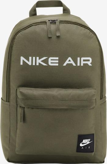 Nike Sportswear Rucksack in khaki / weiß, Produktansicht