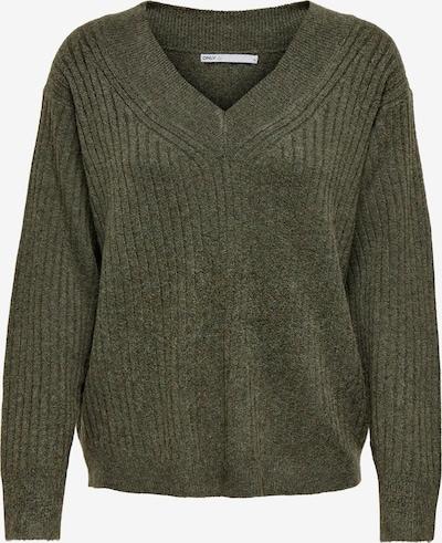 ONLY Pullover 'CARI' in dunkelgrün, Produktansicht